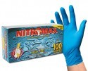 PRO-STAT GLOVES NITROMAX Tex-Grip Powder Free Blue Nitrile Gloves