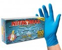 Emerald Gloves NITROMAX Tex-Grip Powder Free Blue Nitrile Gloves