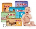 CUTIES BABY PRODUCTS Cuties Premium Baby Diapers