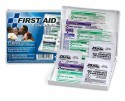 First Aid Only Travel First Aid Kit with Plastic Case, 16 Piece