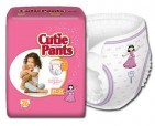 CUTIES BABY PRODUCTS Cuties Training Pants, Refastenable - Girls