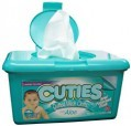CUTIES BABY PRODUCTS Cuties Quilted Wash Cloths with Aloe