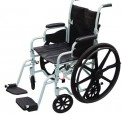 Drive Medical Poly-Fly Lightweight Wheelchair & Flyweight Transport Chair