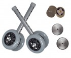Drive Medical 5 in. Walker Wheels for Folding Walker