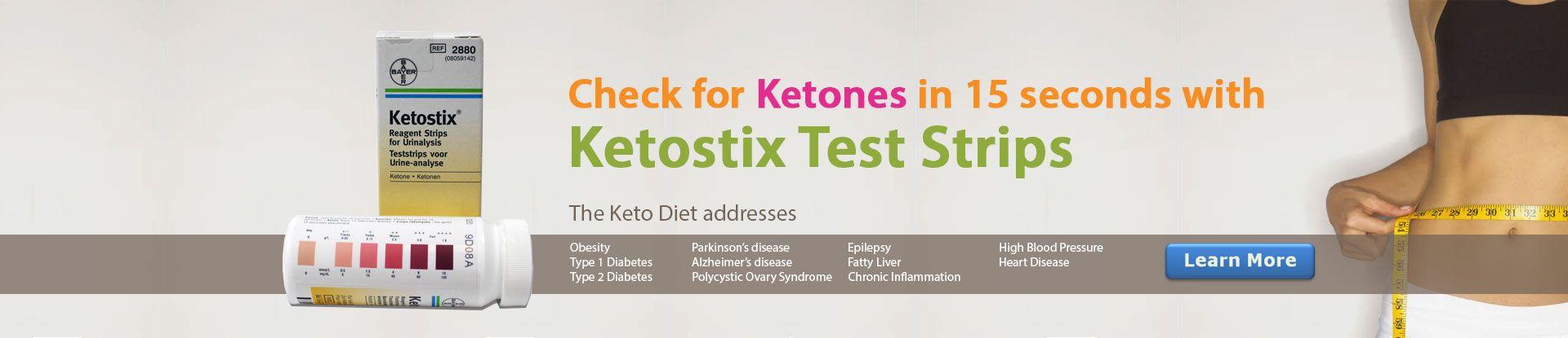 Ketostix Ketosis Test Strips