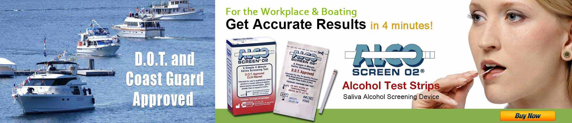 Alco-Screen Alcohol Test Strips