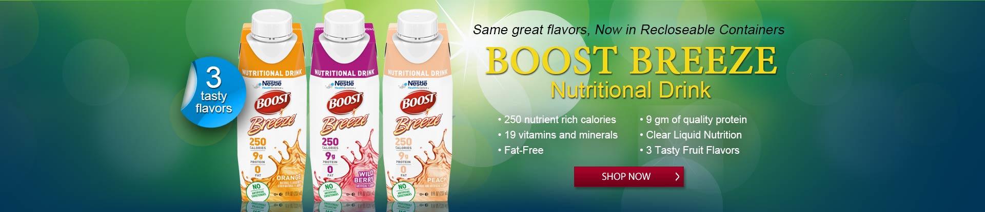 Boost Breeze Nutritional Drink