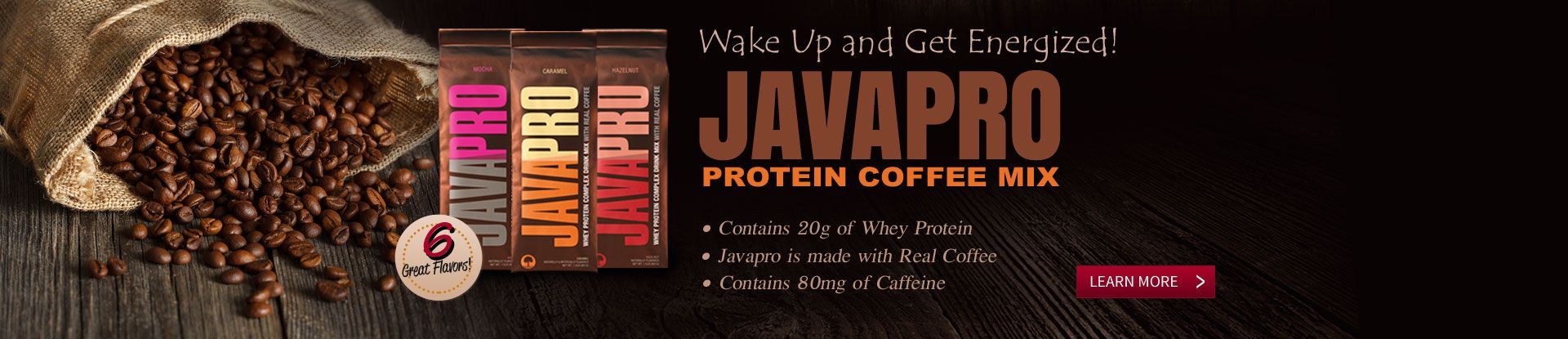 JavaPro Protein Coffee Mix