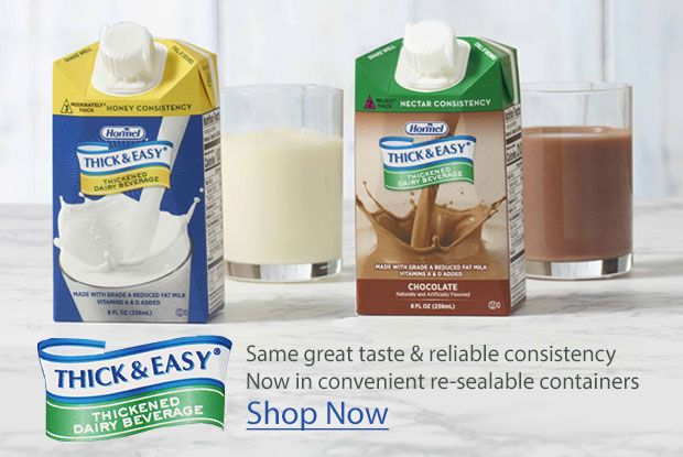 New Look for Thick and Easy Thickened Dairy