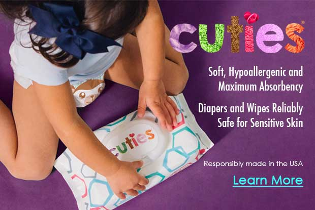 Cuties Baby Diapers & Wipes