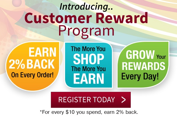 Earn 2% Back on Every Purchase