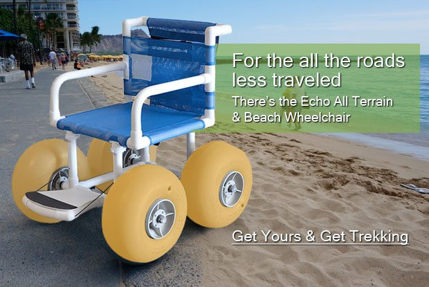 Echo All Terrain & Beach Wheelchair