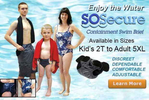 Sosecure Swim Containment Brief