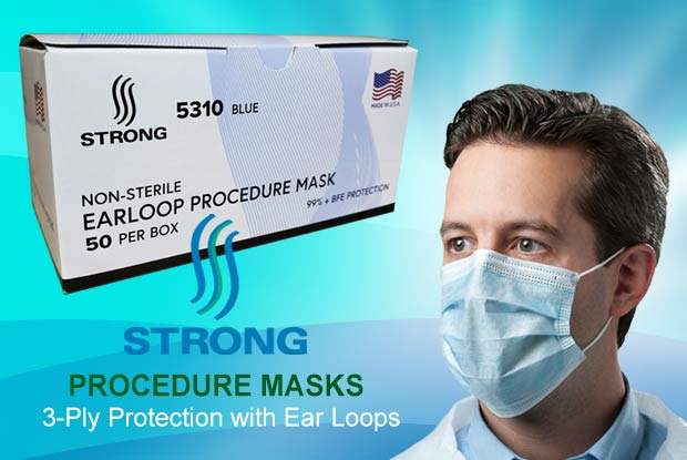 Strong Procedure Face Mask - Made in USA