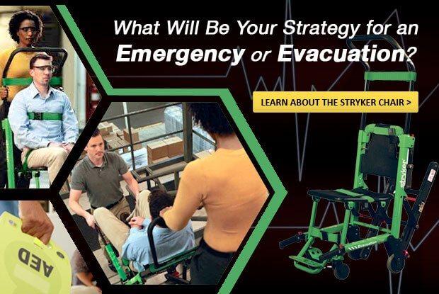 Stryker Evacuation Chair (Model 6254)