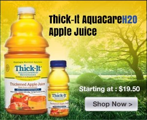 Thick-It AquaCareH2O Thickened Apple Juice